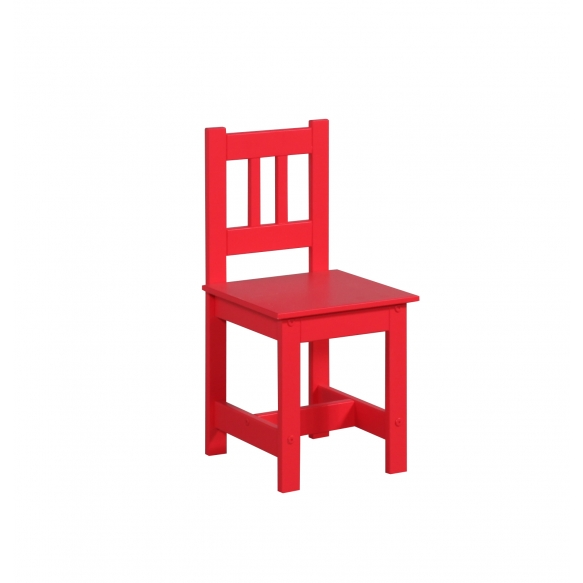 """chair """"Junior"""", red"""