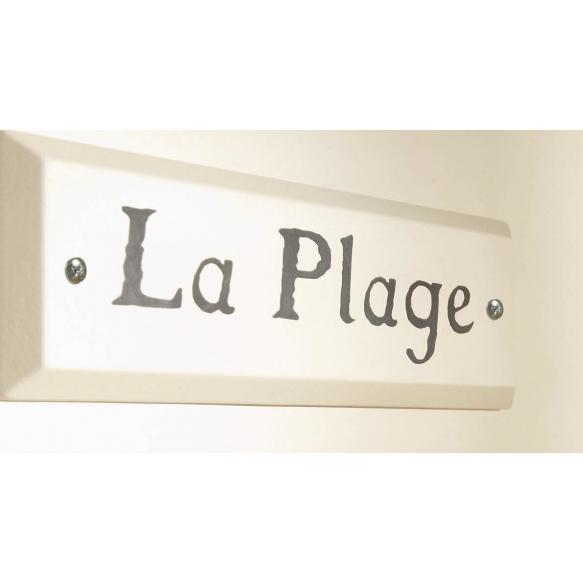 Marseilles - name plate, beige