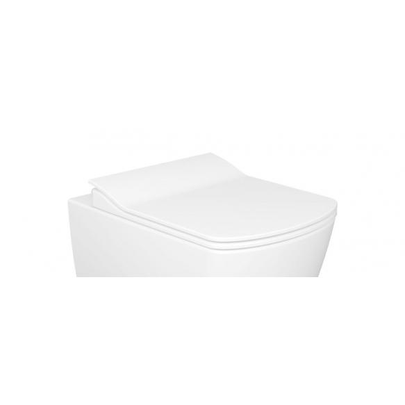 soft close seat Elegant, white