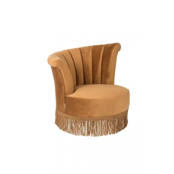 Lounge Chair Flair Golden Brown