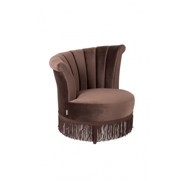 Lounge Chair Flair Dark Brown