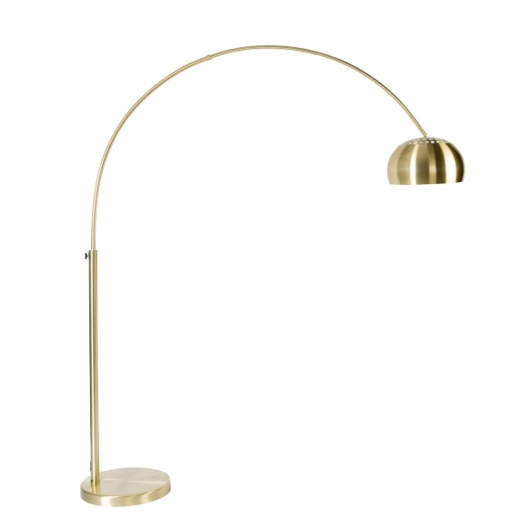 Floor Lamp Metal Bow Brass