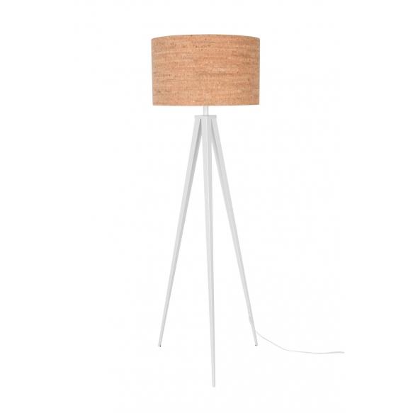 Floor Lamp Tripod Cork White