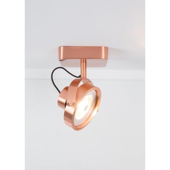 Spot Light Dice-1 Led Copper