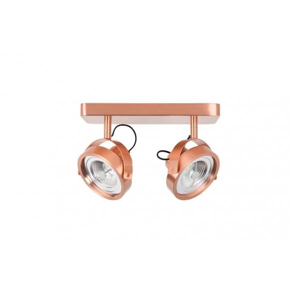 Spot Light Dice-2 Led Copper
