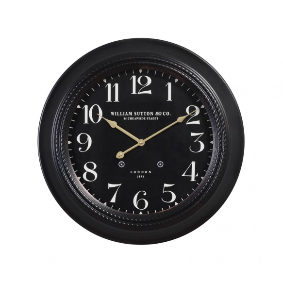 """19-5/8""""L MDF Wall Clock"""