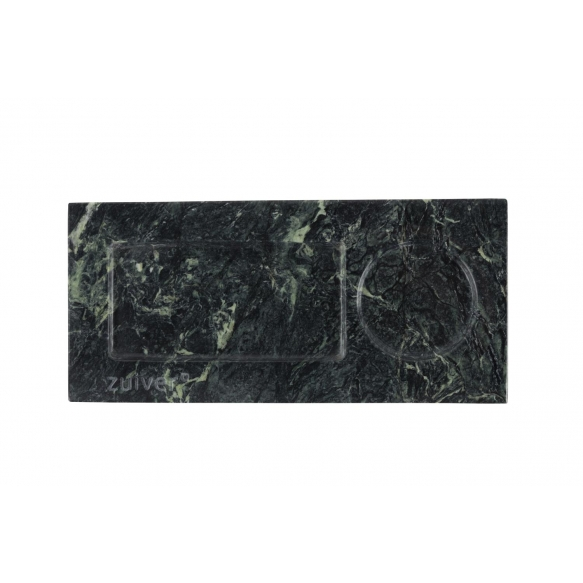 Tray Marble Green
