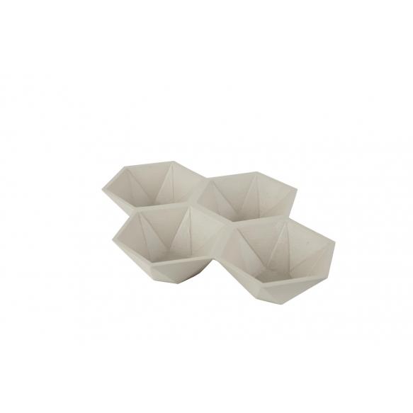 Tray Hexagon Sand