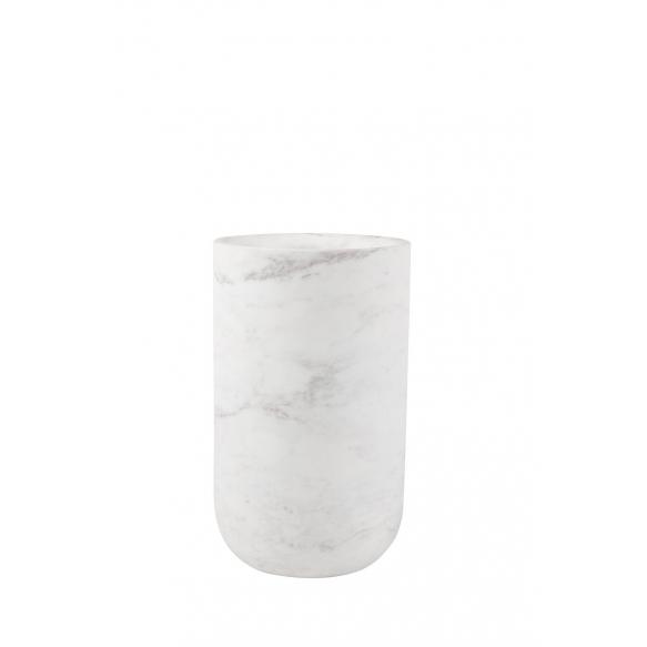 Vase Fajen Marble White