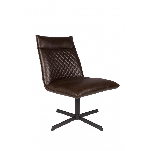 Lounge Chair Ivar Dark Brown
