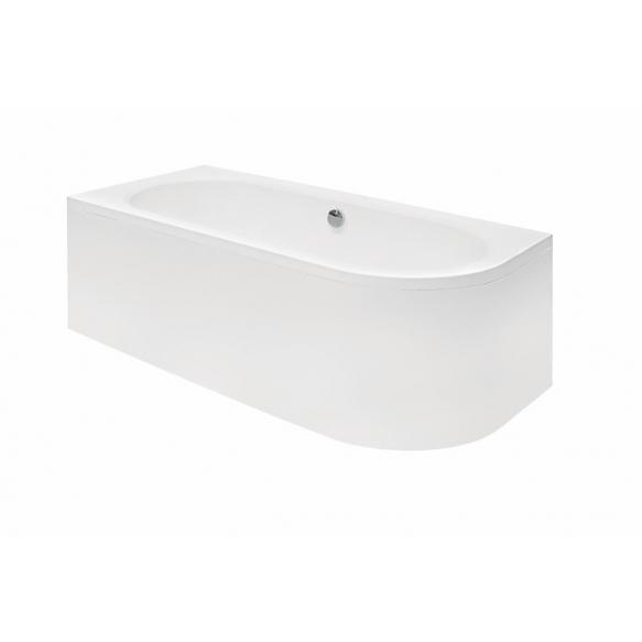 acrylic bath Avito, 170x75 cm, right +feet+panel