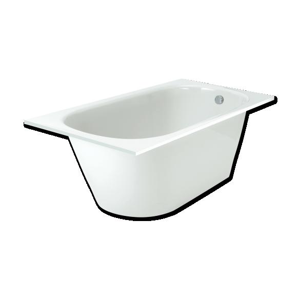 Cast stone bath VARIO 160x75cm