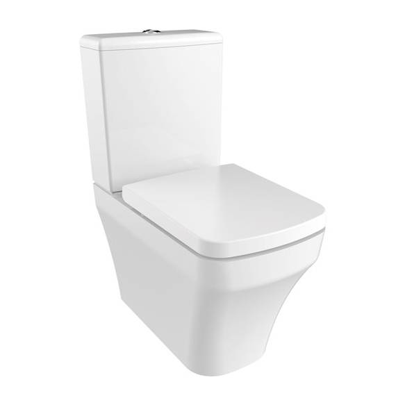 rimfree back to wall wc Solo, universal trap, dual flush (SO361+MA410+IT5030)