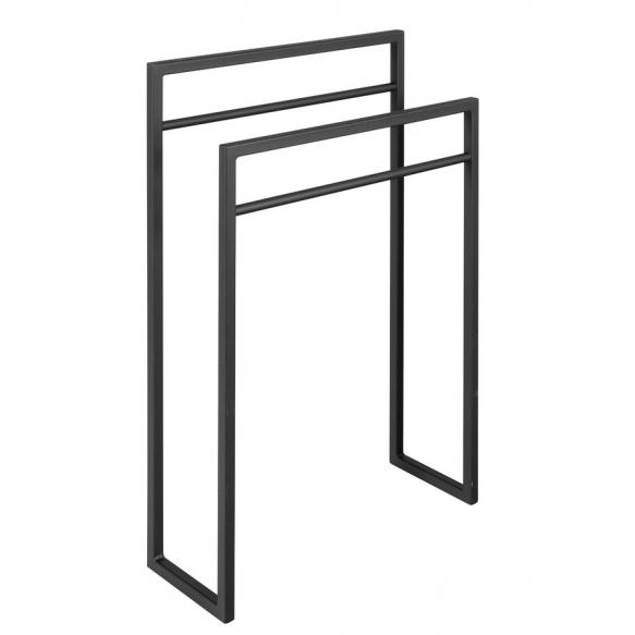 SKA Towel holder, black mat