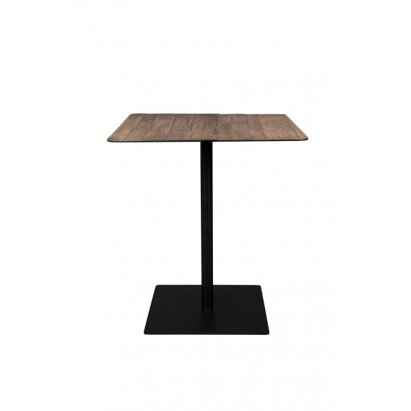 Counter Table Braza Square Brown