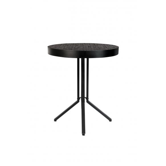 Counter Table Maze Round Black