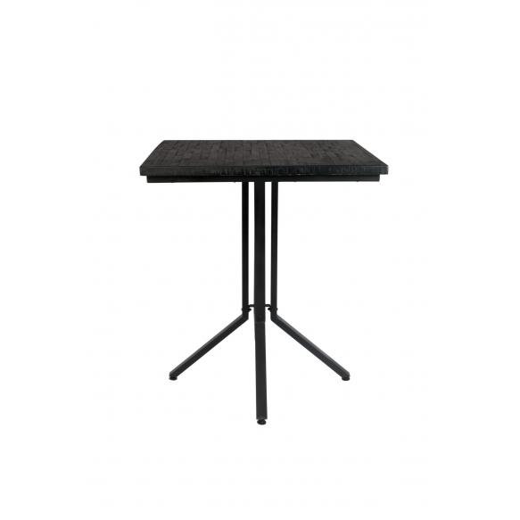Counter Table Maze Square Black