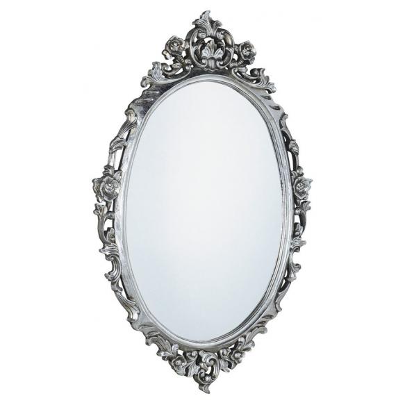 peegel Desna, 100x80 cm, antiikhõbe