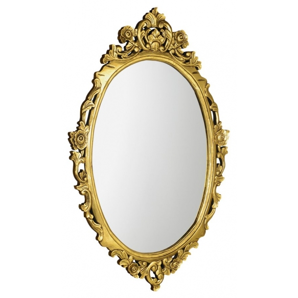 peegel Desna, 100x80 cm, antiikkuld