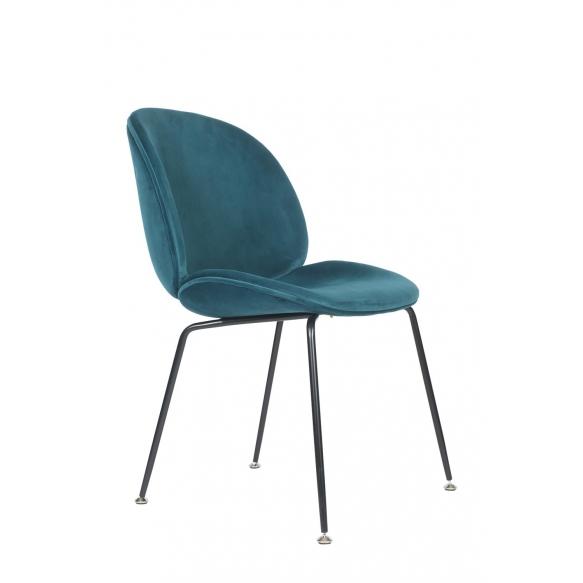 chair Selma, blue fabric (7033-27)