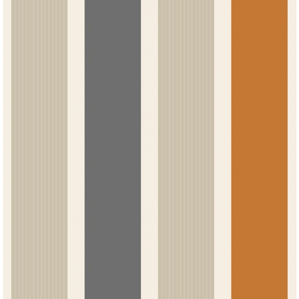 WALLPAPER MAGNUM, ORANGE STRIPE