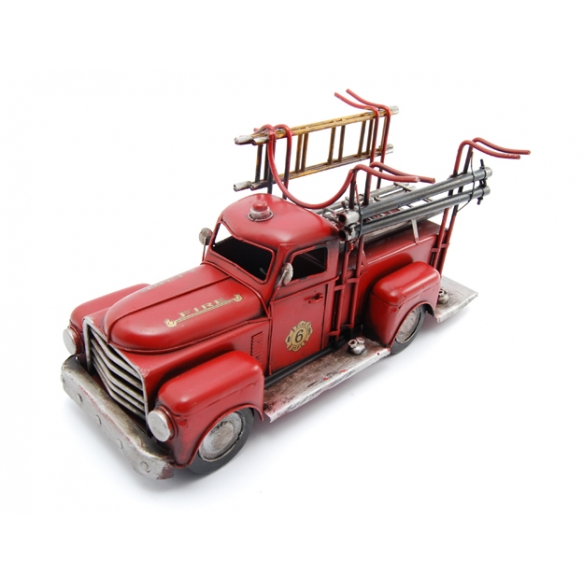 Wine rach Fire engine, 37x19x20cm