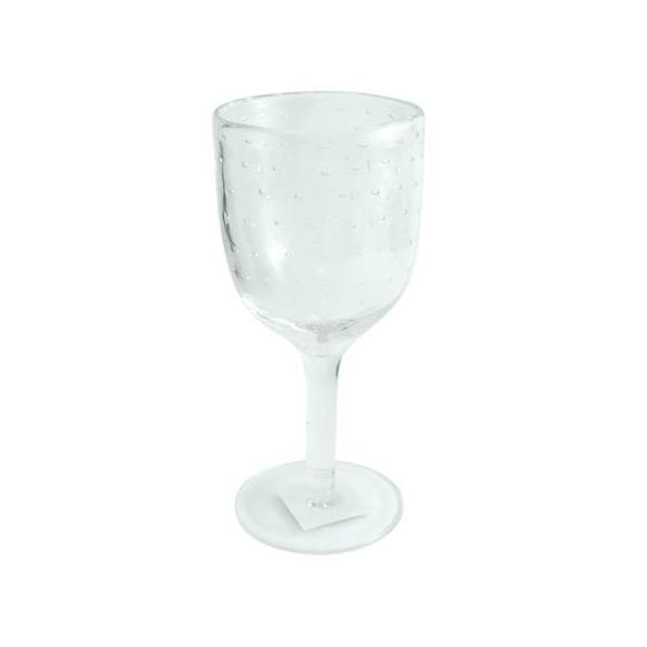 Wine glass Bubbles d9x h19cm, clear