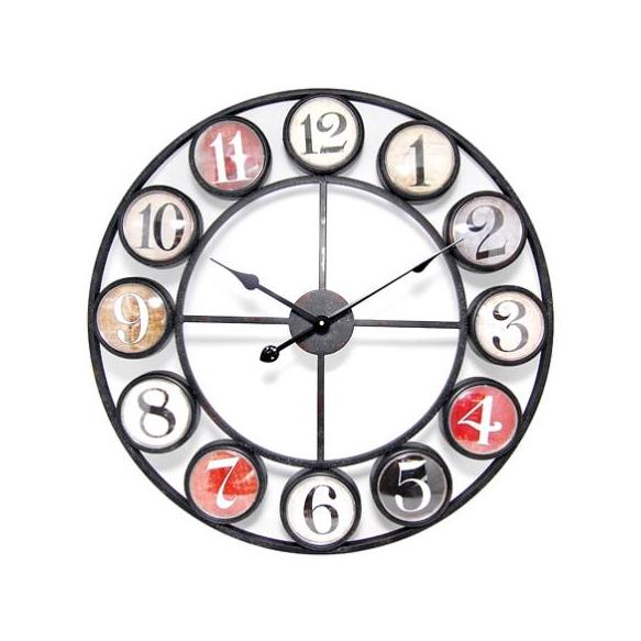 Wall clock Ole d68cm