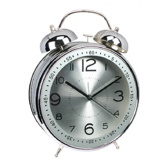 Alarmclock twin bells d 20cm