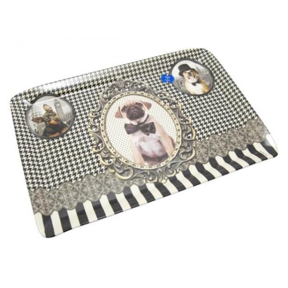 Tray Barocco Dogs, 45x31.5cm