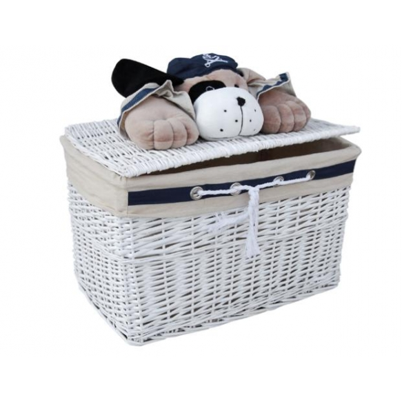 Basket Captain Bear XL h40 x60x40cm