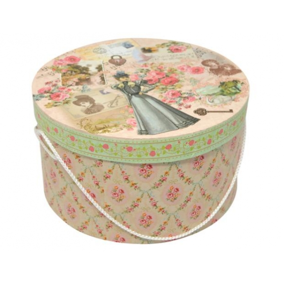 Paberist karp Manor Lady, ovaalne, size 3, 25x25x14 cm