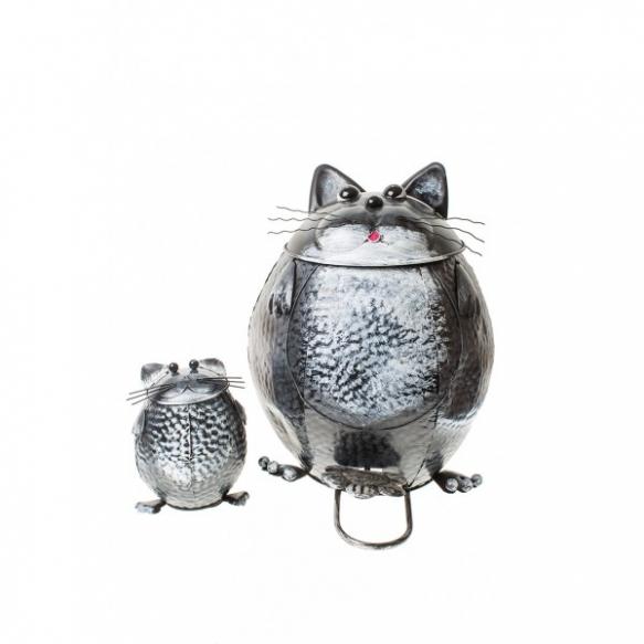CAT GARDEN BIN WITH SMALL CAT BIN INSIDE