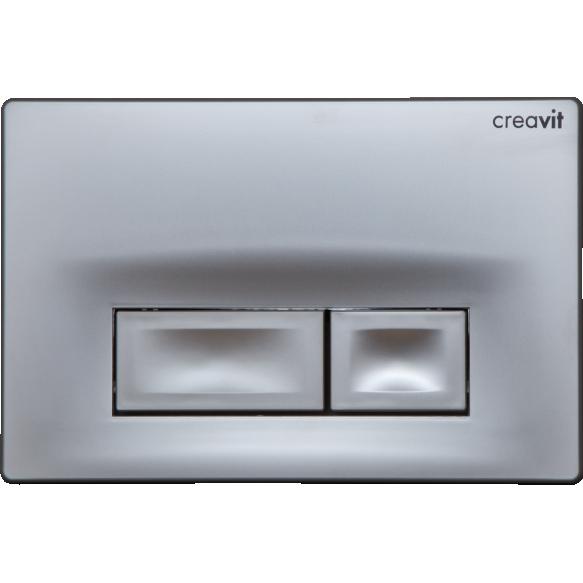CREAVIT ORE seinasisese raami loputusnupp, mattkroom