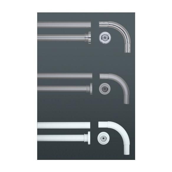 Dušikardinatoru, 90x90 cm , 90 kraadi nurk, diam 28mm, kroom