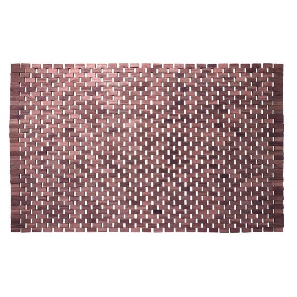 Roosipuust vannitoamatt ,pruun, 52x90 cm
