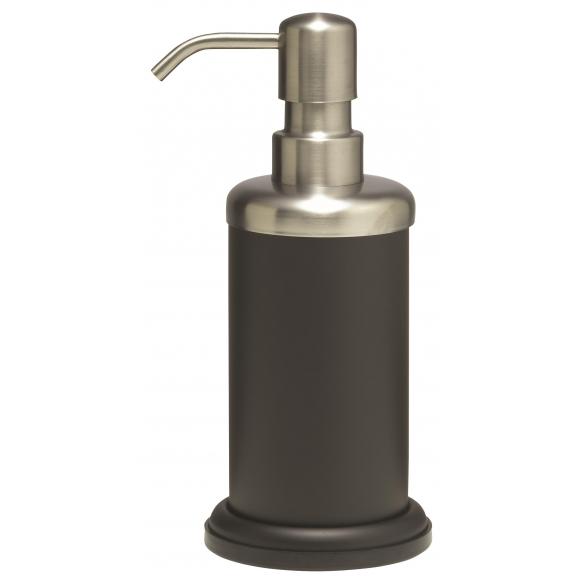 ACERO metal  soap dispencer, black