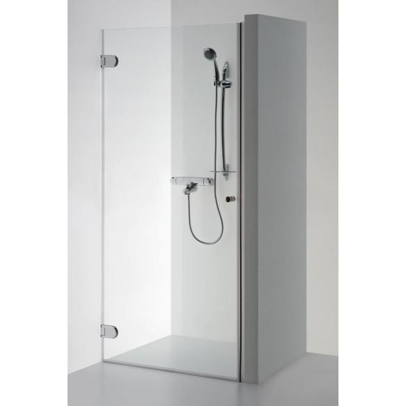 Shower door  EVA , clear glass