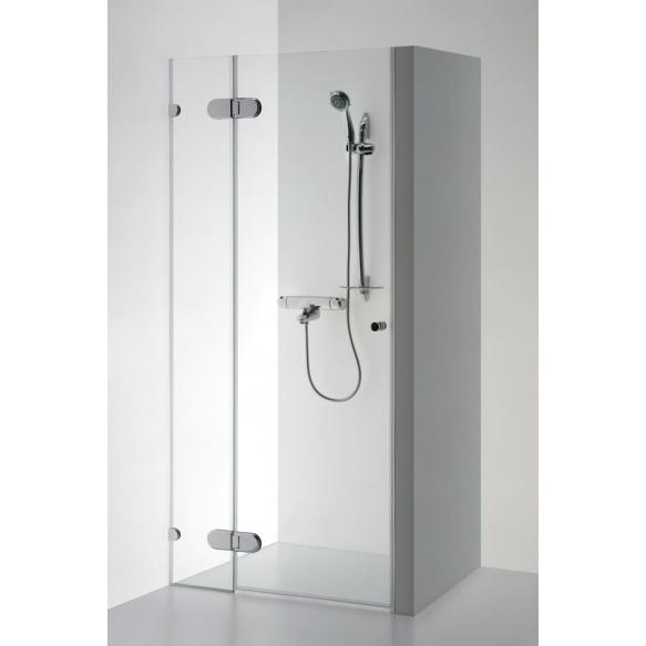 Shower door EVA PLUS , clear glass