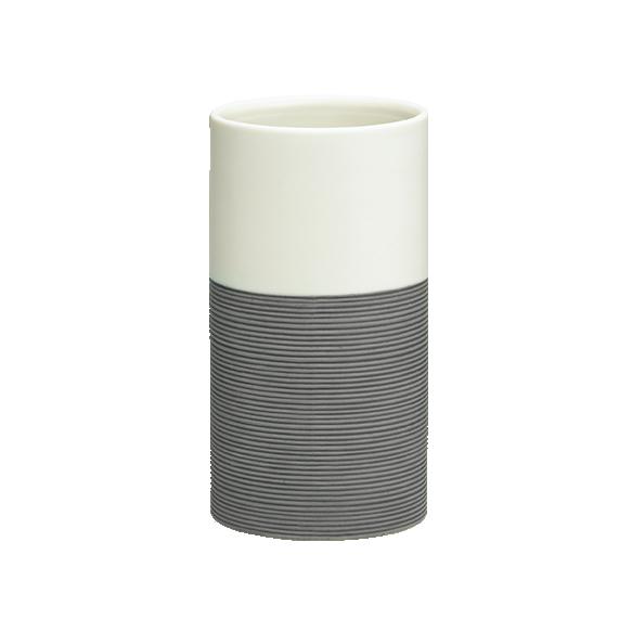 Doppio tumbler, grey,, hand made ceramics
