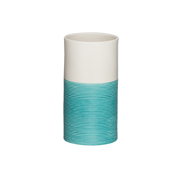 Doppio tumbler, blue,, hand made ceramics