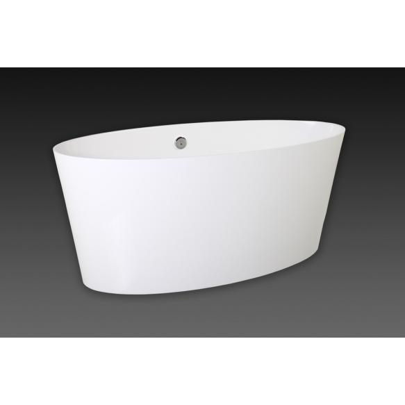 Vanity, 159x72 cm, ilma ülevooluta või ülevooluga