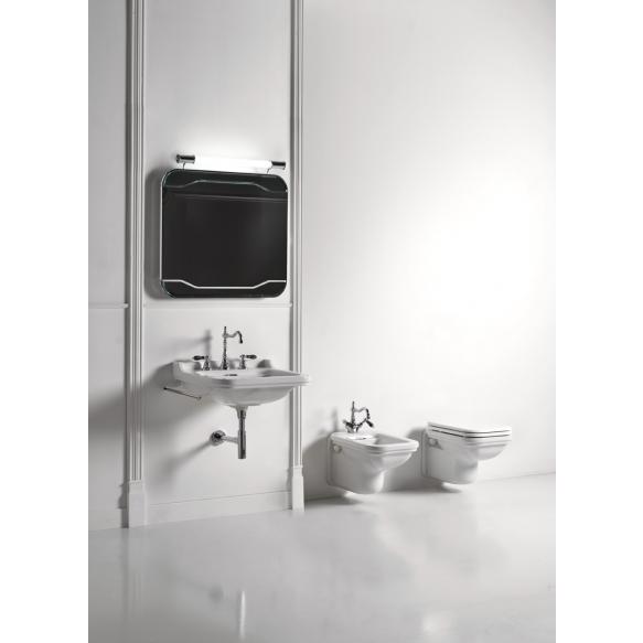 Valamu Waldorf 60x55 cm, kroomitud ülevool (414001+811390)