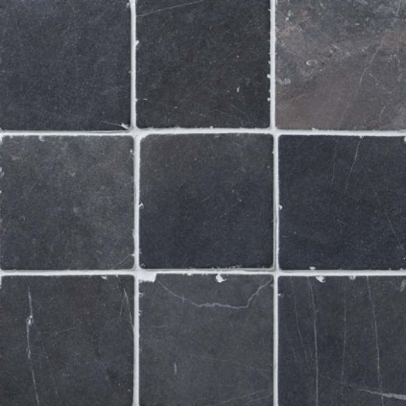 Square Grey marble 100x100mm, no mesh