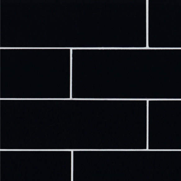 Crystal Black, 100x300x8mm, no mesh