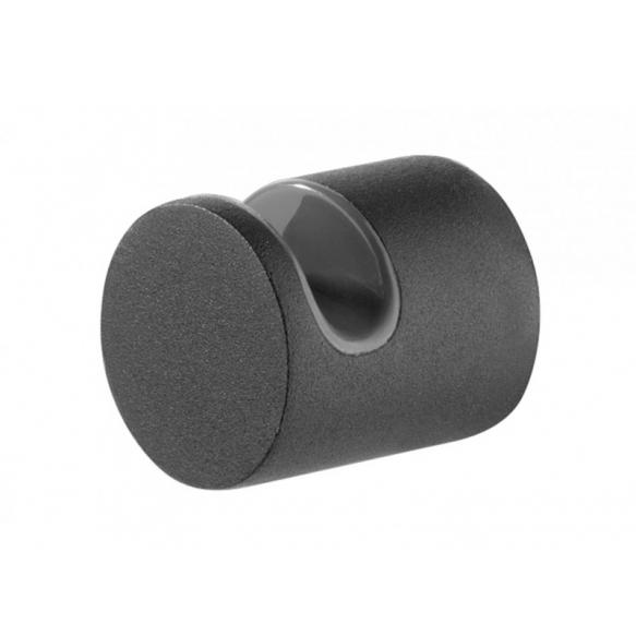 BOLD 2 hooks, black, no screw assembling