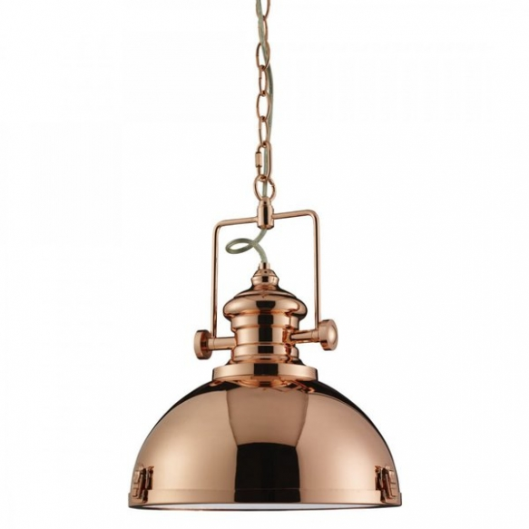 ceiling lamp Industrial, copper, E27, 1X60W