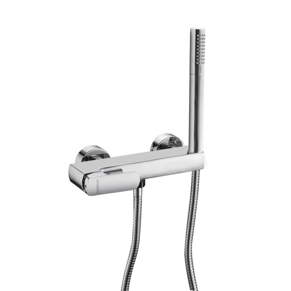 MIXONA Wall mounted shower mixer, chrome