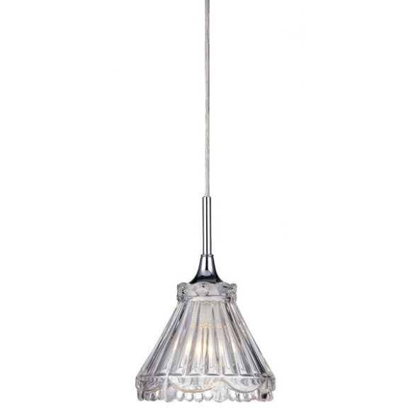 LAURA wall hung light E14 40W, 230V, chrome, IP21
