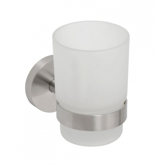 NEO Tumbler holder, Brushed stainless steel